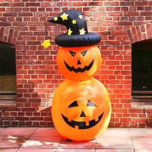 Aufblasbare Halloween Figur Kürbis