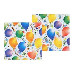 20 Party-Servietten Ballonmotiv