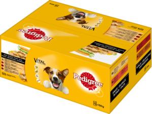 Pedigree Nassfutter für Hunde, Adult, in Sauce, MP 72x100g