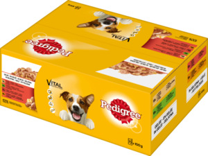 Pedigree Nassfutter für Hunde, Adult, in Gelee, MP 72x100g