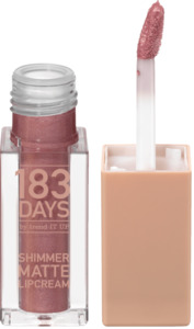 183 DAYS by trend IT UP Lipgloss Shimmer Matte Lipcream 050