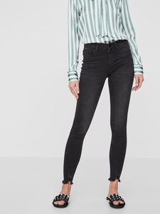 LUCY NW RIPED ANKLE JEANS