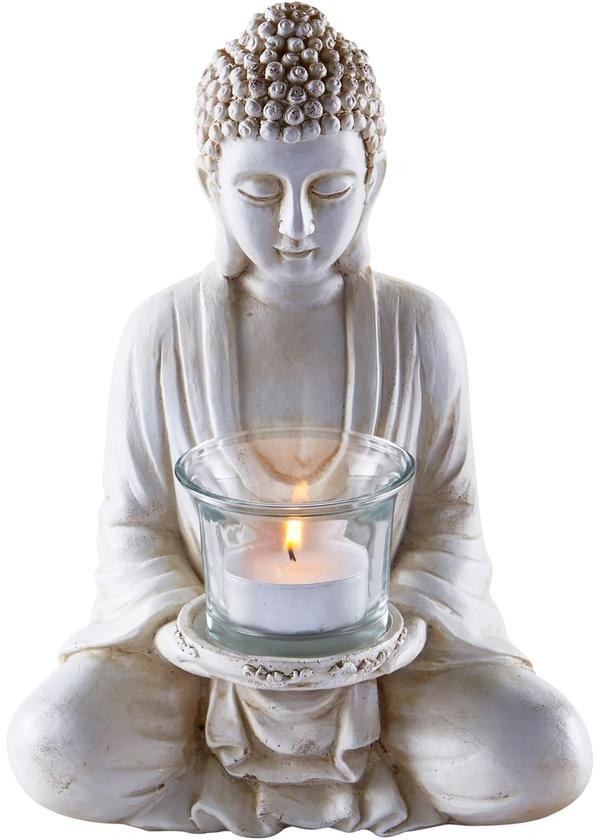"""Teelichthalter """"Buddha"""""""