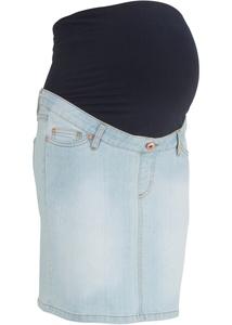Umstands-Jeansrock aus super-Stretch