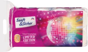 Sanft&Sicher Toilettenpapier Saison 3lg 8x150Bl