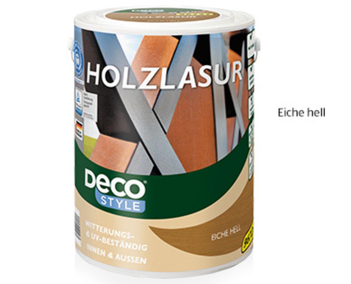 Bild 1 von DecoSTYLE®  Holzlasur, 5l