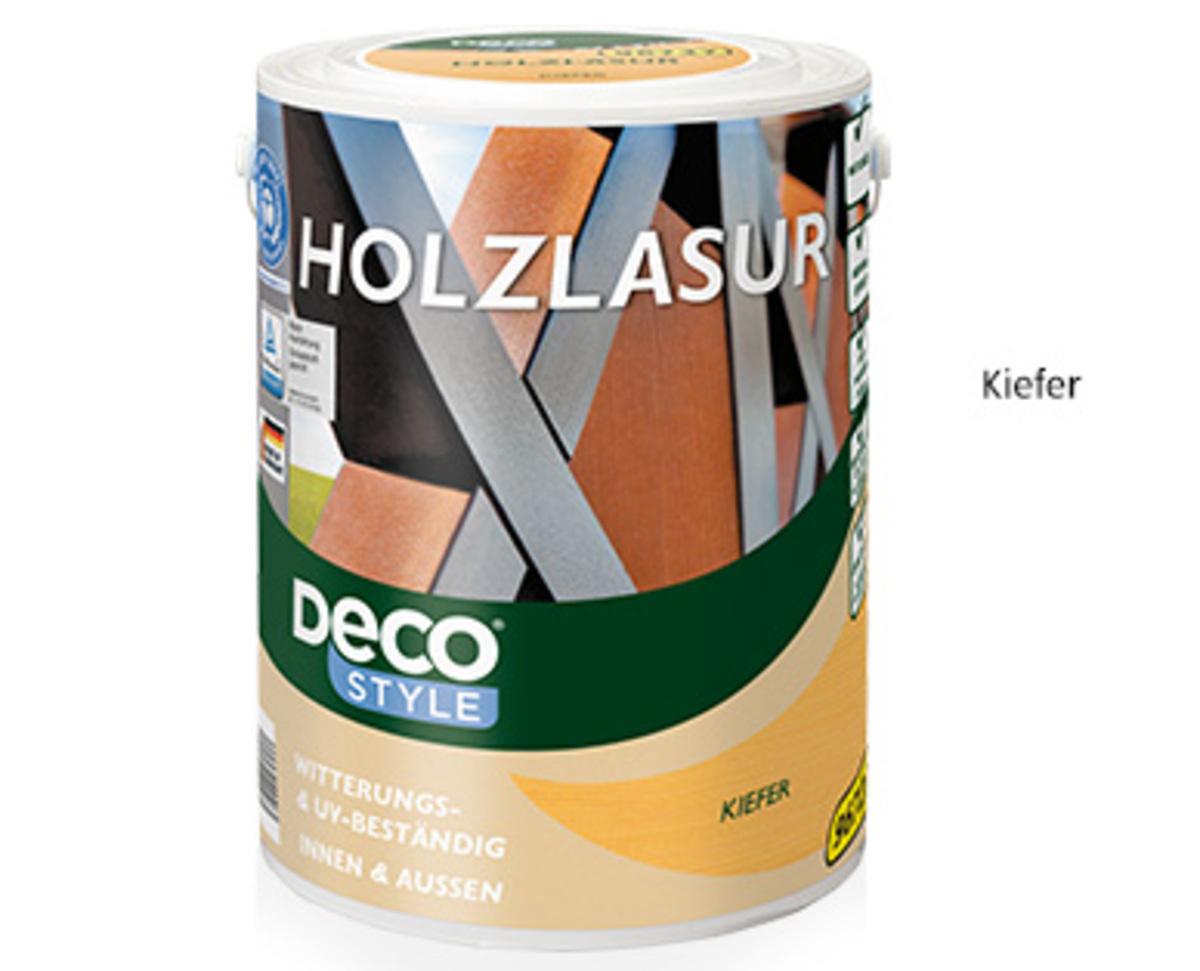 Bild 2 von DecoSTYLE®  Holzlasur, 5l