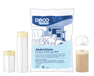 DecoSTYLE®  Abdeckfolien-Set, 6-teilig