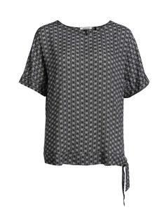 Steilmann - bedrucktes Blusenshirt im Oversize-Look