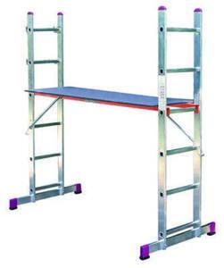 KRAUSE Alu-Gerüst- und Leiter-Set