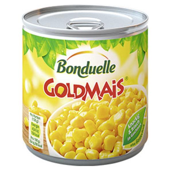 Bonduelle Goldmais jede 425-ml-Dose/285 g Abtropfgewicht