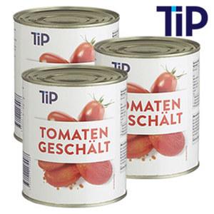 Geschälte Tomaten jede 850-ml-Dose/480 g Abtropfgewicht, ab 3 Dosen