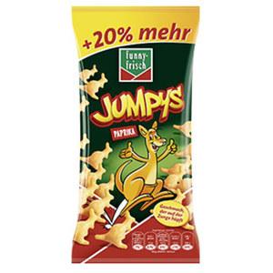 Funny Frisch Frit Sticks ungarisch, Jumpys oder Ringli + 20 % mehr Inhalt  jeder 90/120-g-Beutel