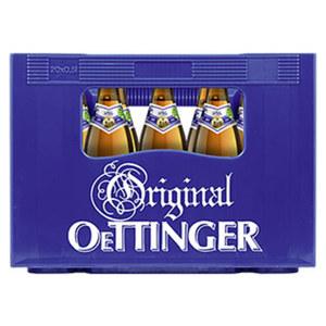 Oettinger Pils, Export, Alkoholfrei oder Radler 20 x 0,5 Liter, jeder Kasten