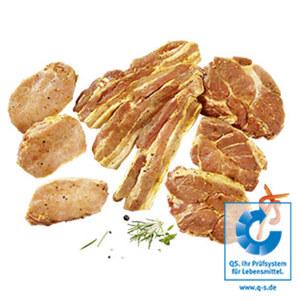 Frische XXL Grillplatte Canadian mit ausgesuchten Schweinefleischspezialitäten, je 1 kg