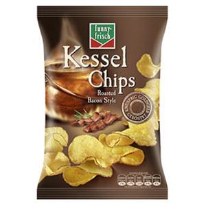 funny-frisch Kessel Chips versch. Sorten, jeder 120-g-Beutel