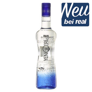 Yeni Ceri Raki 45% Vol., jede 0,7-l-Flasche