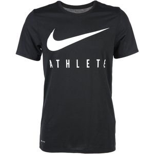 Herren Sport Shirt mit großem Logoprint