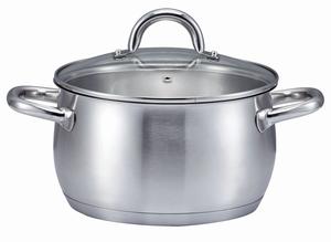 "SSW KitchenQ Edelstahl Kochtopf ""Profi Plus"" ø 20cm"