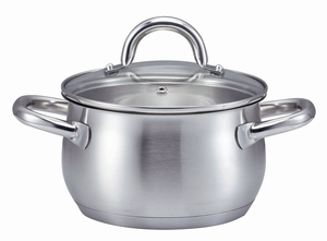 "SSW KitchenQ Edelstahl Kochtopf ""Profi Plus"" ø 16cm"
