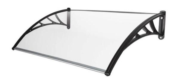 Harms Vordach 80x100 cm, PC transparent