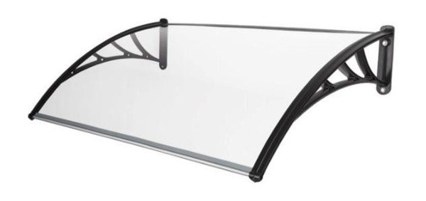 Harms Vordach 100x120 cm, PC transparent