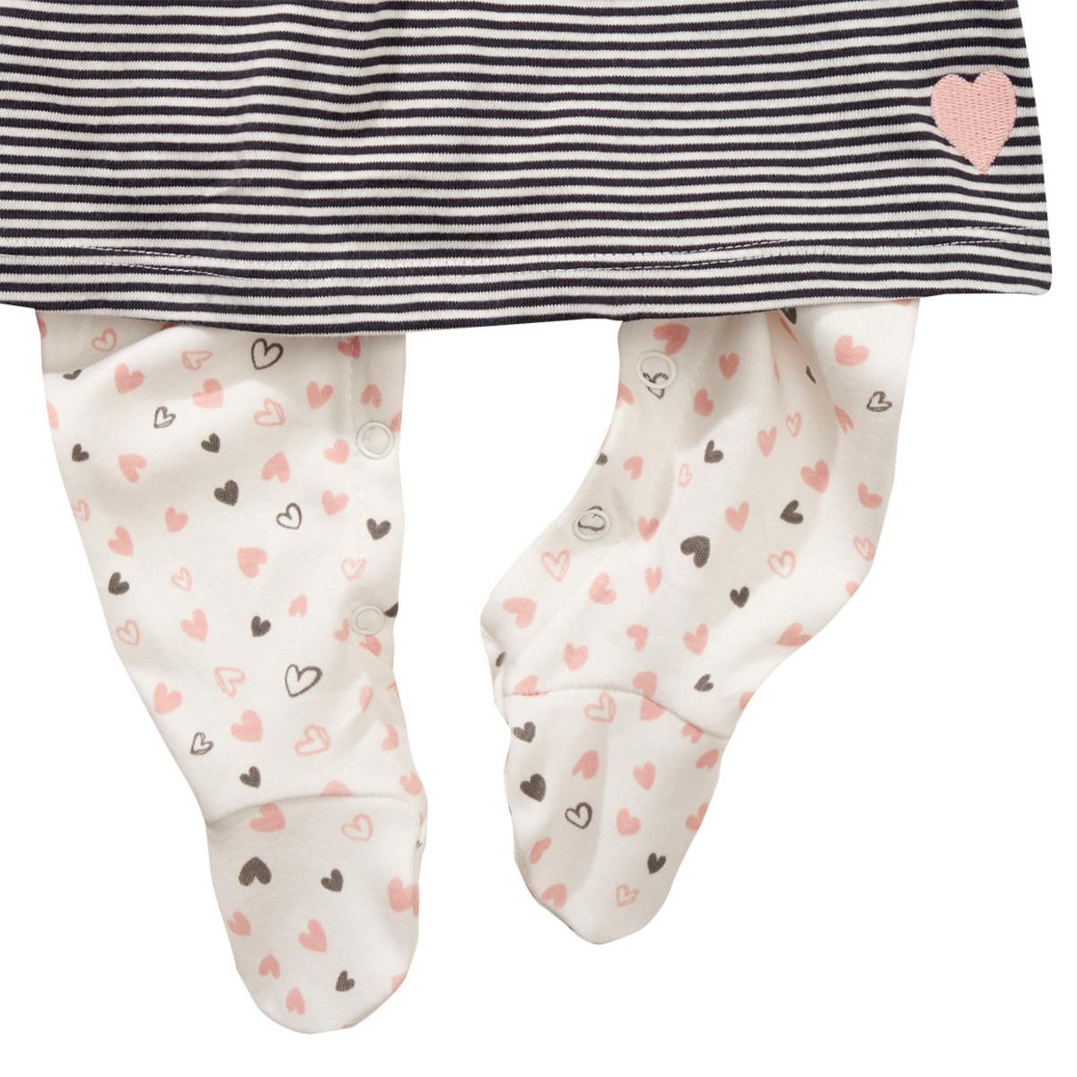 Bild 3 von Newborn Stramplerkleid mit Fuß
