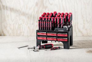 Kraft Werkzeuge XXL Schraubendreher- und Bit-Set 100-tlg.