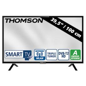 "39,5""-FullHD-LED-TV 40FD5406 H.265, 3 HDMI-Eingänge, 2-USB-Anschlüsse, CI+, Stand-by: 0,26 Watt, Betrieb: 61 Watt, Maße: H 52,4 x B 91,1 x T 7,5 cm, Energie-Effizienzklasse A (Spectrum A++ bis E)"