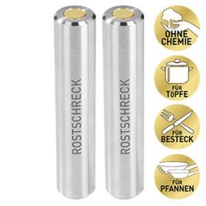 Rokitta's Rostschreck - verhindert Rostflecken in der Spülmaschine - ohne Chemie - für ca. 2 x 600 Spülgänge
