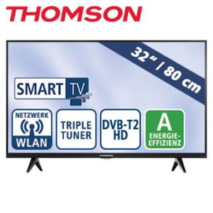 "32""-LED-HD-TV 32HD5506 Auflösung 1366 x 768 Pixel, HbbTV, H.265, Dual-Core, 2 HDMI-Eingänge, USB-/CI+-Anschluss, Stand-by: 0,25 Watt, Betrieb: 40 Watt, Maße: H 43,5 x B 72,2 x T 7,5 cm, Energie-Ef"