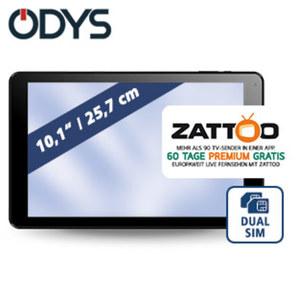 Multimedia-Tablet-PC Goal10 +3G  · Quad-Core-Prozessor (bis zu 1,3 GHz) · 2 Kameras (0,3 MP/2 MP) · microSD™-Slot bis zu 32 GB · Android™ 7.0