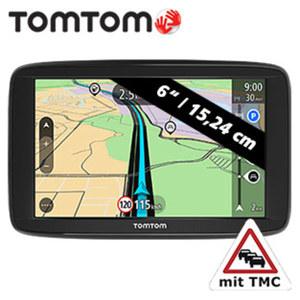 Navigationssystem Start 62 EU inkl. Free Lifetime Maps** • Fahrspurassistent • TMC-Empfänger im Ladekabel integr. • neueste TomTom-Technologie • 8 GB interner Speicher • microSDTM-Slot •