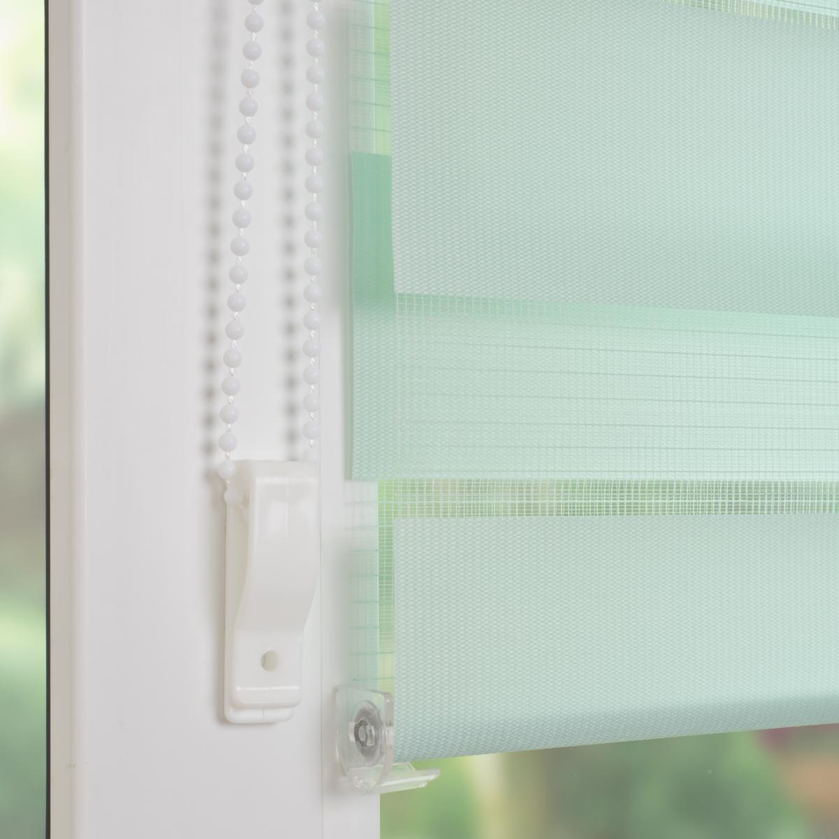 Bild 5 von Bella Casa Duo-Rollo mini, Klemmfix Doppelrollo, pastellgrün, Rollo 45 x 160 cm (B x H)