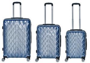 "Packenger 3er Koffer-Set ""Atlantic"" Hartschale (M, L & XL)"