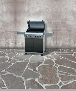 Tarrington House Gasgrill 4-flammig  mit Seitenkocher
