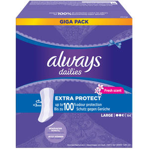 Always dailies Extra Protect Slipeinlagen Large Fresh 0.05 EUR/1 Stück