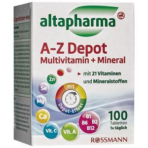 altapharma A-Z Depot Multivitamin + Mineral 2.82 EUR/100 g