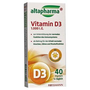 altapharma Vitamin D3 1.000 i.E.