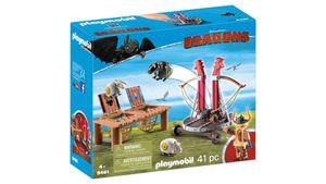 PLAYMOBIL 9461 - Dragons - Grobian mit Schafschleuder
