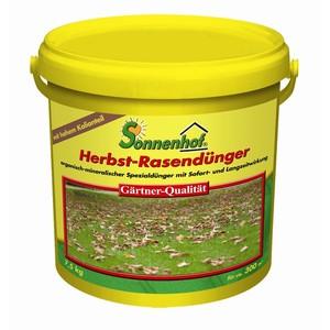 Herbst-Rasendünger 7,5 kg organisch-mineralisch
