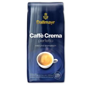 DALLMAYR Caffè Crema perfetto oder Espresso intenso