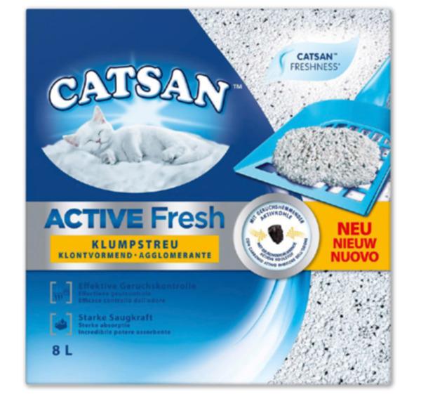 CATSAN Active Fresh Hygiene- oder Klumpstreu