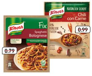 Knorr Fix oder Natürlich Lecker