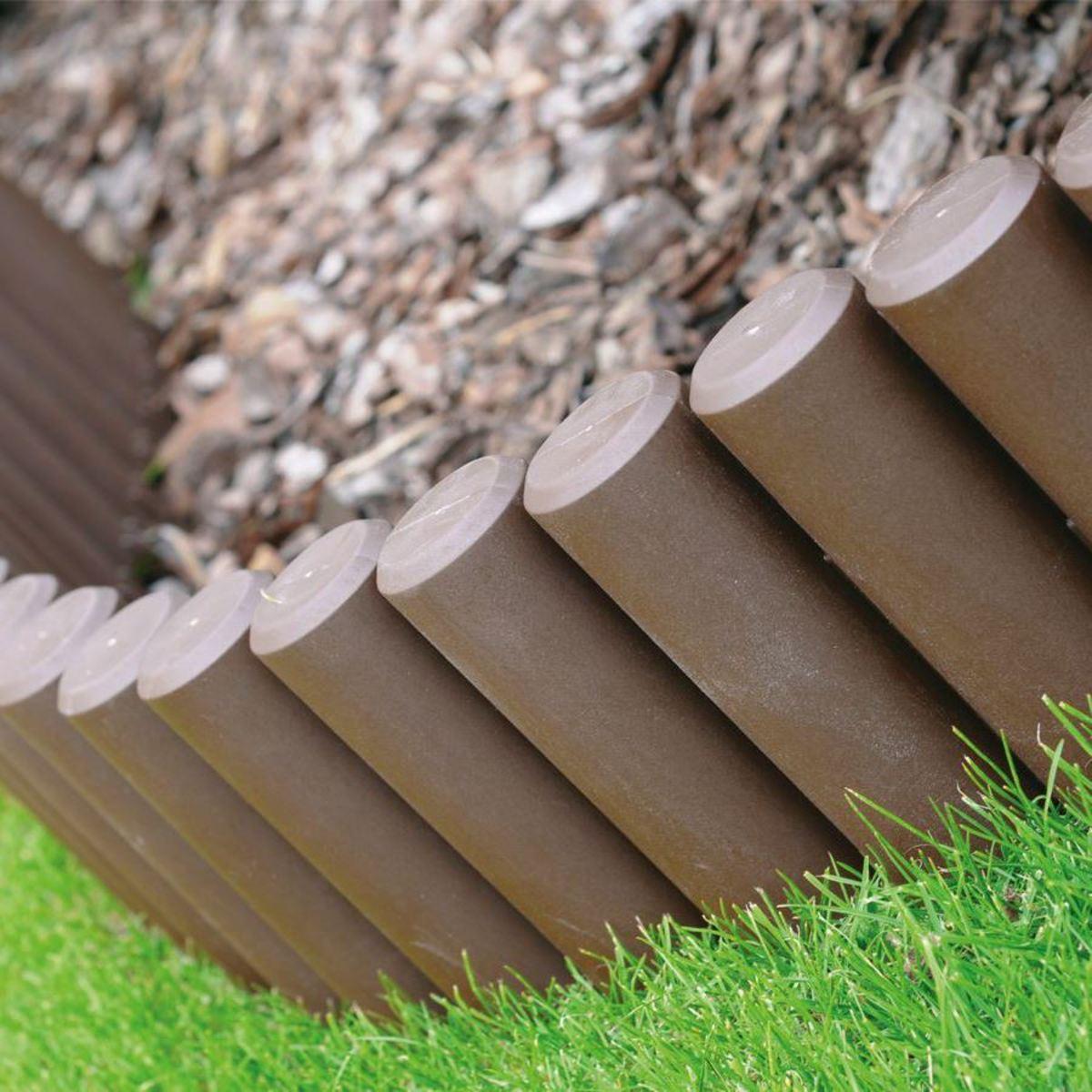 Bild 1 von Gartenpalisade 2,2m Braun