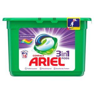 Ariel 3in1 PODS Colorwaschmittel– 16Waschladungen