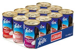 FELIX DOSE 12x400g Mixtray
