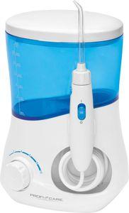 Profi Care PC-MD 3005 elektrische Munddusche / Mundpflegedusche, weiß-blau