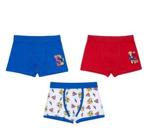 Kinder Retro Shorts, 3er Pack - Feuerwehr Sam, Gr. 122/128