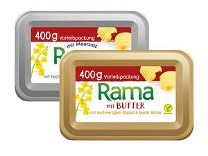 Rama mit Butter/Meersalz